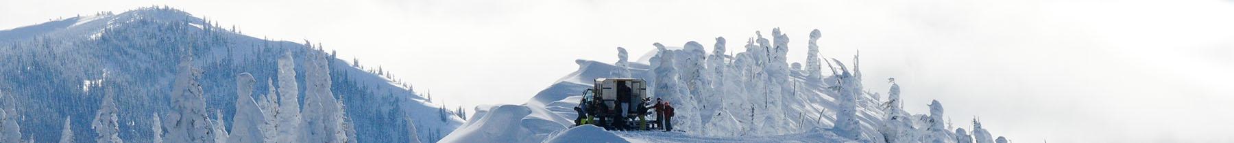 Powder Cat Skiing in Fernie BC at Fernie Wilderness Adventures